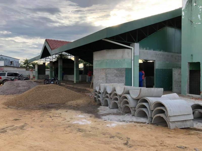 Depois de sete anos desativada Feira Zezito Assayag recebe melhoramentos para funcionar