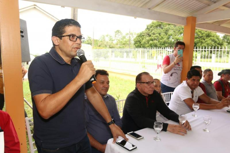 Deputado João Luis visitou região