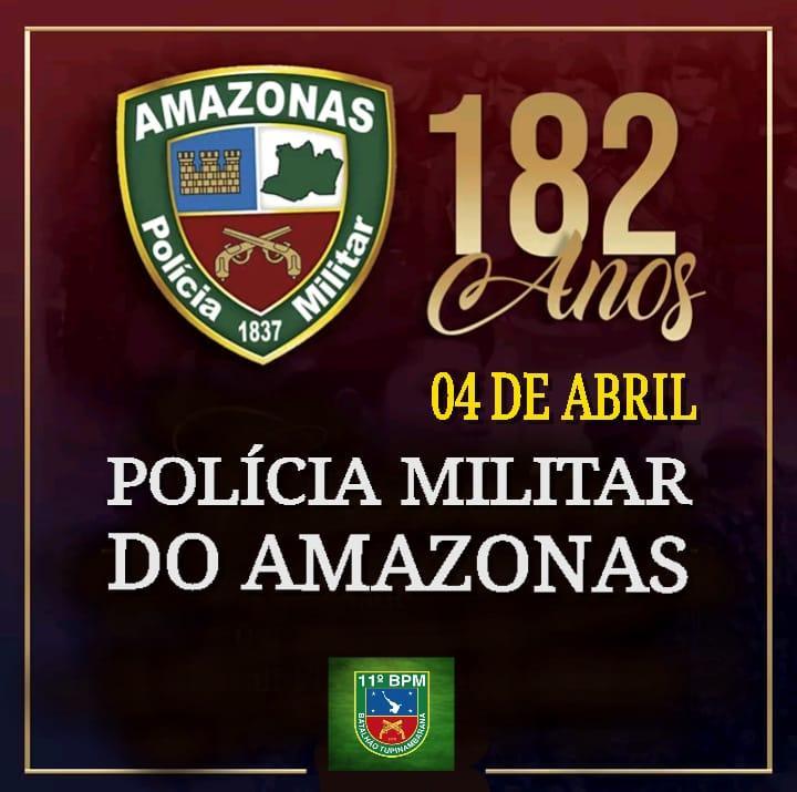 Saullo Vianna destaca os 182  anos de criação da Policia Militar