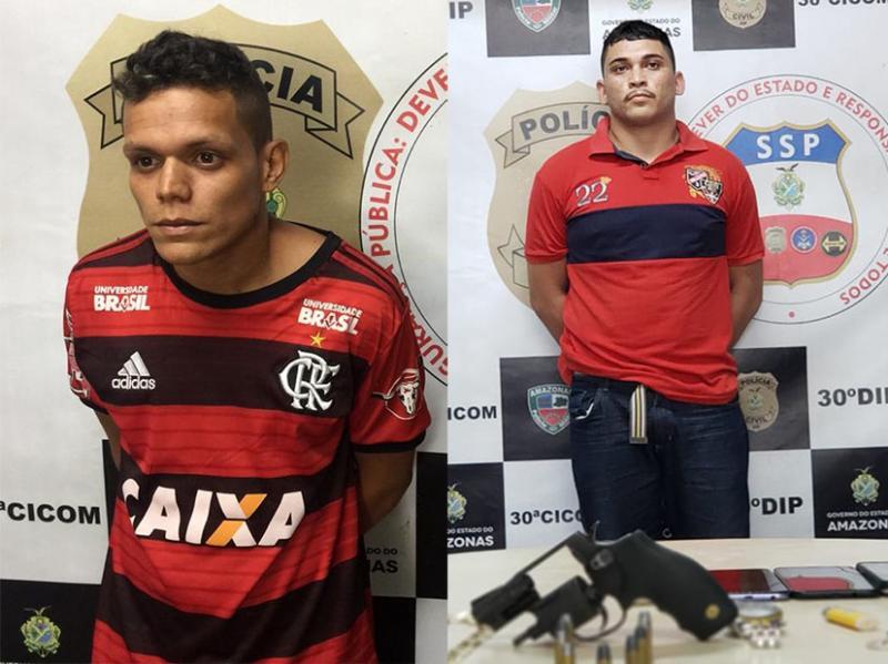 Polícia Civil prende dupla denunciada por arrastões nos bairros Cidade de Deus 2 e Gilberto Mestrinho
