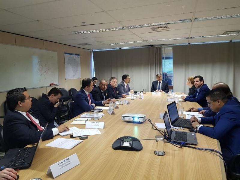 Presidente do Detran-AM participa de encontro no Ministério da Infraestrutura
