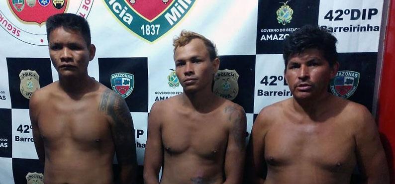 PM prende suspeitos de tocar o terror na Zona Rural de Barreirinha