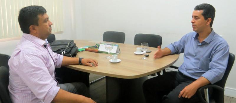 Telo Pinto visita Presidente da FAEA/SENAR-AM