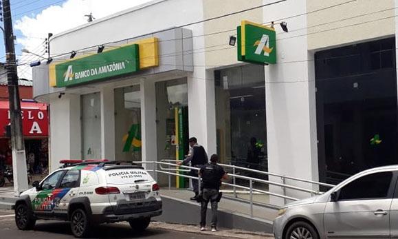 Quadrilha arromba agencia do Banco da Amazônia. Dois homens já foram presos. Um deles seria especialista em roubo de banco.