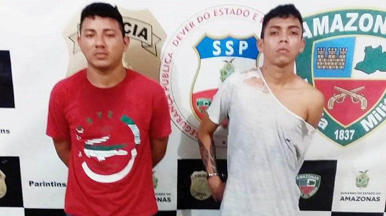 """Jovens suspeitos de serem """"aviões"""" do tráfico presos em flagrante"""