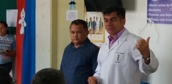 Urologista realiza atendimento em Nhamundá