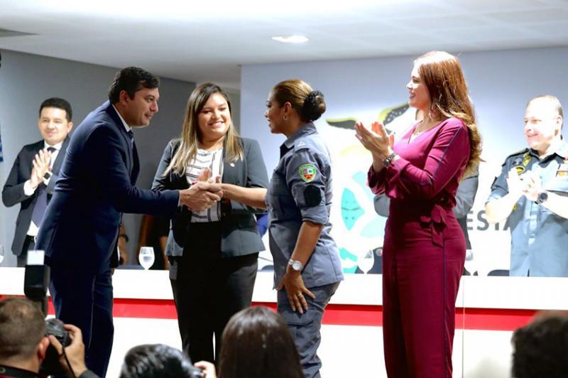 Governador Wilson Lima assina promoção de 2.260 policiais militares do Amazonas
