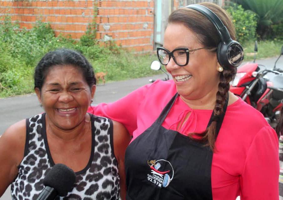 Márcia cumpre agenda política em Manaus