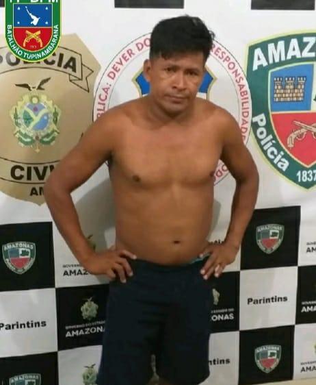 Polícia Militar prende homem por violência doméstica em Parintins