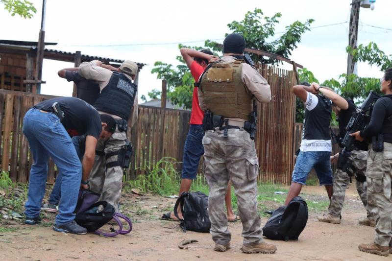 SSP deflagra Operação 'Cidade das Trevas' em duas ocupações irregulares em Manaus