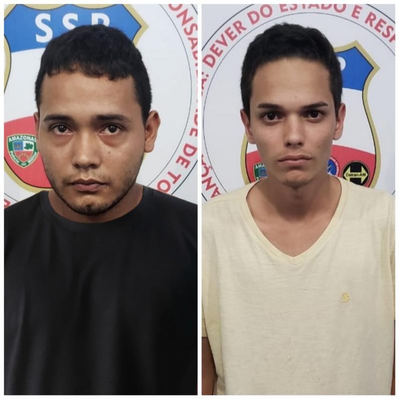 Polícia Civil  prende dupla envolvida no roubo de  R$ 11 mil em Manacapuru