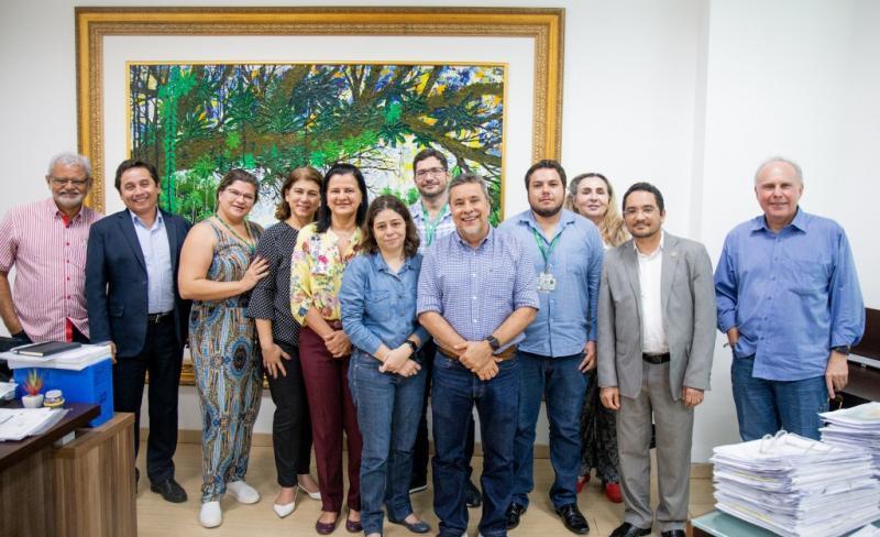 Fapeam reúne com Ufam e UEA para formar parcerias em programa de ideias inovadoras