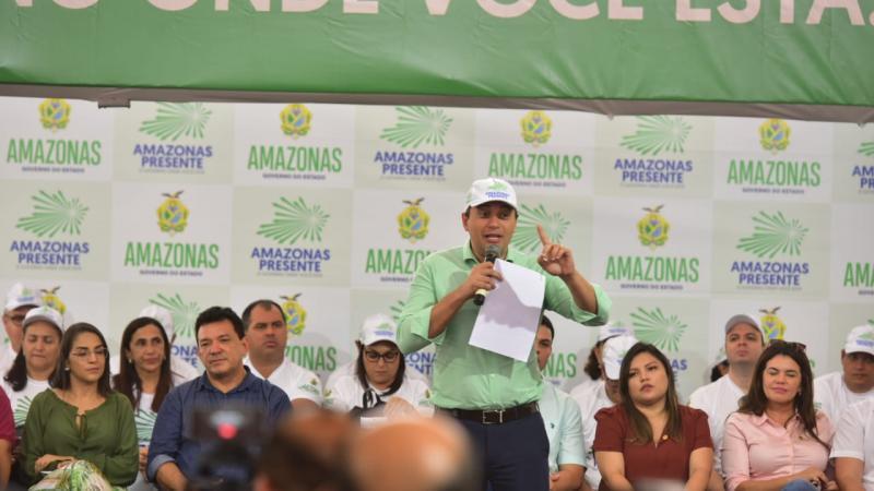 Wilson Lima lança programa 'Amazonas Presente'