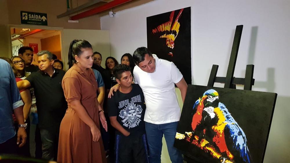 Governador Wilson Lima destaca importância do trabalho do Liceu de Artes na vida dos parintinenses