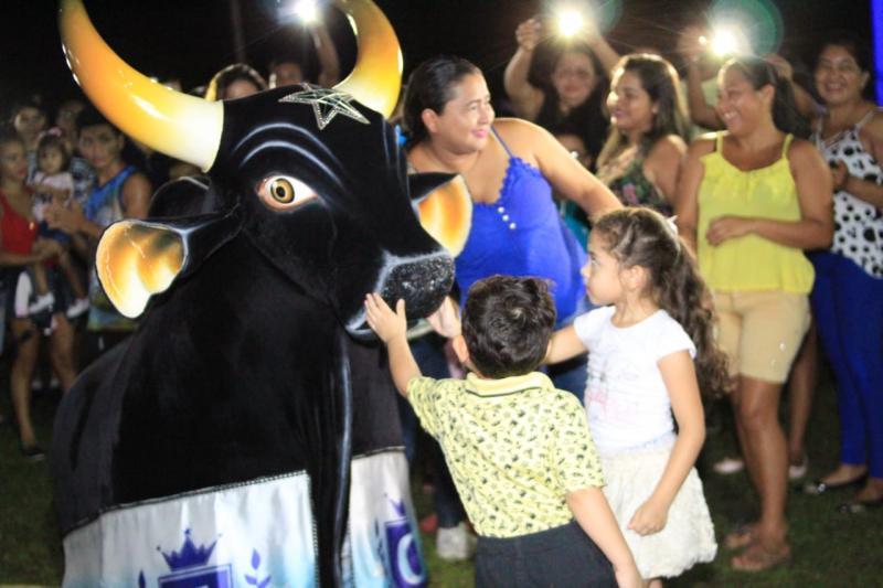 Caprichoso se apresenta na comunidade Santa Luzia do Macurany