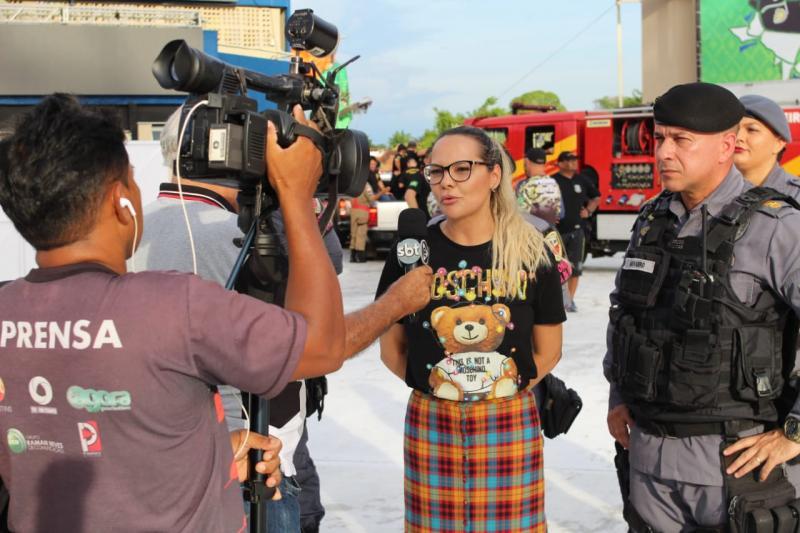 Programa Ronda Maria da Penha é lançado em Parintins, com apoio da vereadora Nêga Alencar