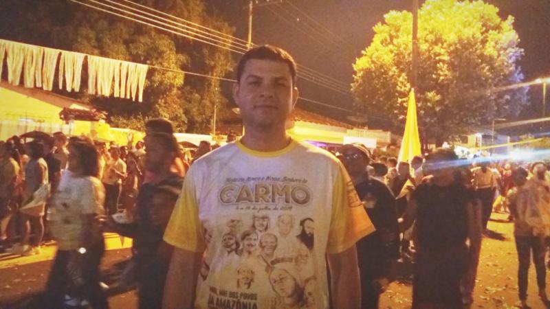 Saullo Vianna destaca a importância da celebração à Nossa Senhora do Carmo em Parintins