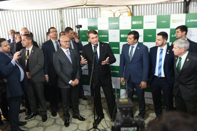 Wilson Lima diz queBolsonaro e Guedes prometem manter diferencial da ZFM