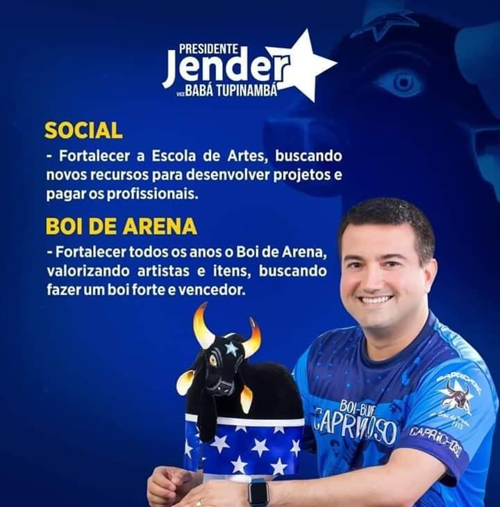 Jender Lobato anuncia propostas de sua plataforma de campanha