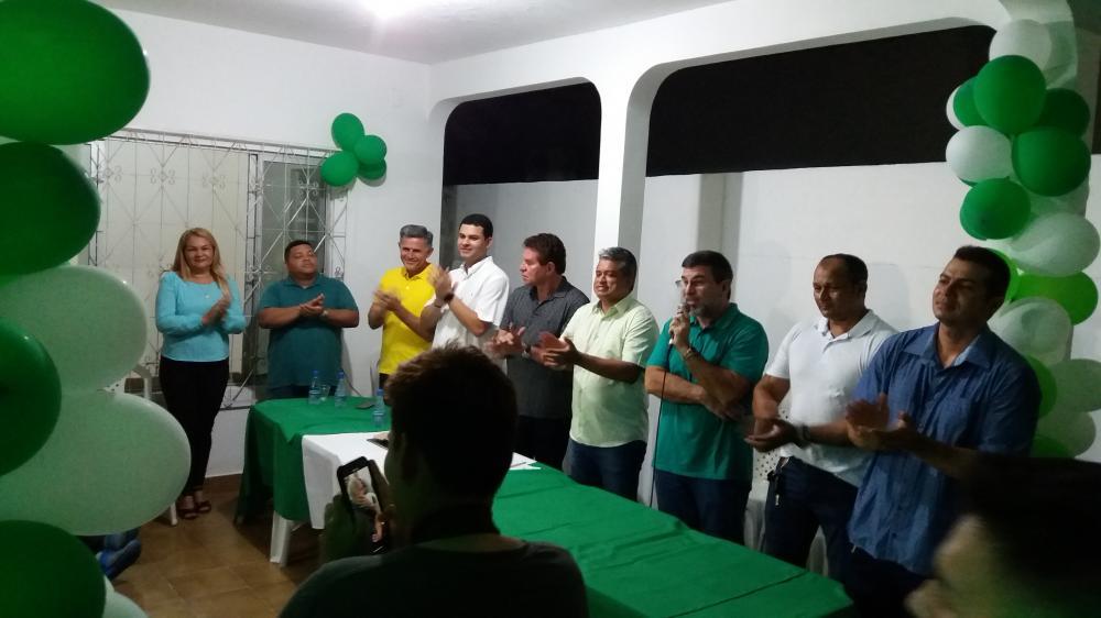 PSC inaugura sede em Parintins e Dodó Carvalho assume a diretoria municipal do partido