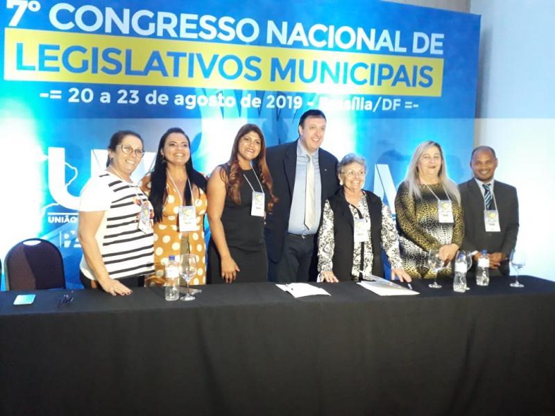 Vanessa Gonçalves participa do Painel das Mulheres apresentado no 7°congresso Nacional de Legislativos Municipais