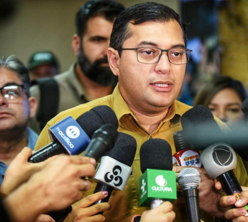 Wilson Lima pede apoio das Forças Armadas no combate às queimadas e Governo intensifica ações no sul do Amazonas