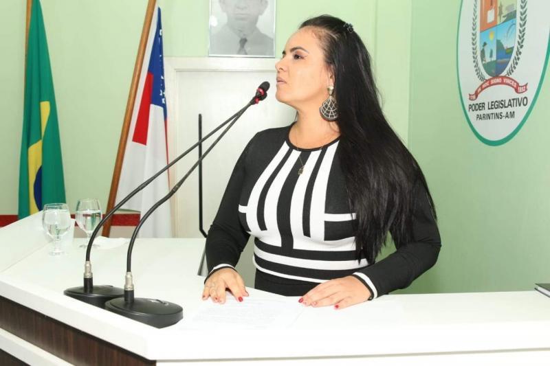 Infraestrutura urbana é tema de discurso da vereadora Vanessa Gonçalves
