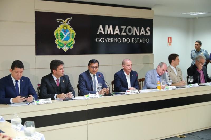 GLO fica até outubro e plano para Amazônia deve ser definido em 10 dias, diz Onyx após reunião com Wilson Lima