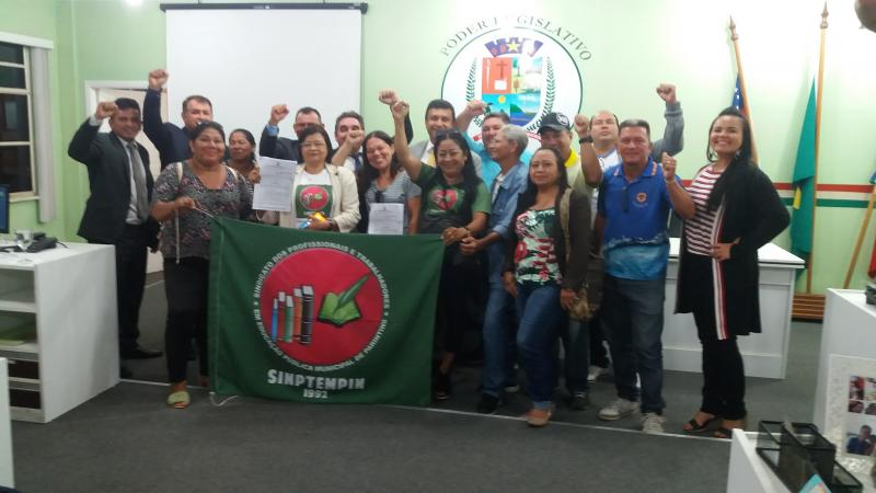 Câmara Municipal aprova com unanimidade Projeto de Lei com as alterações propostas pelos servidores municipais
