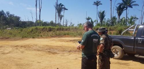Operação contra queimadas e desmatamento multa seis empreendimentos em Canutama em mais de R$ 4,9 milhões