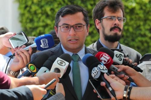 Wilson Lima propõe que recursos para Amazônia tenham maior retorno socioambiental, em reuniões com embaixadores