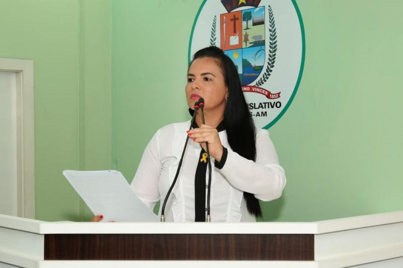 Vanessa solicita emendas impositivas da deputada Alessandra Campêlo para a construção de poços artesianos nas zonas rurais de Parintins