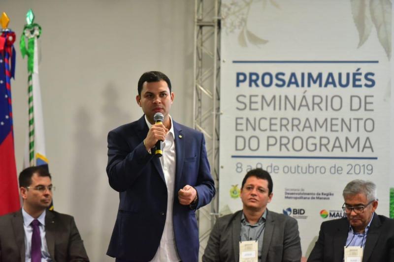 Saullo destaca importância do ProsaiMaués