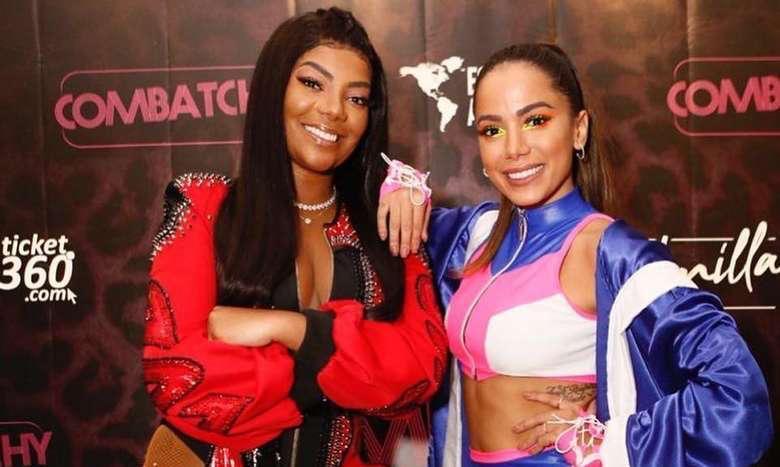 Ludmilla rompe amizade com Anitta, diz colunista Leo Dias