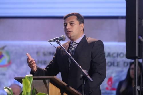 Wilson Lima defende ações que promovam desenvolvimento sustentável, em simpósio sobre gestão ambiental