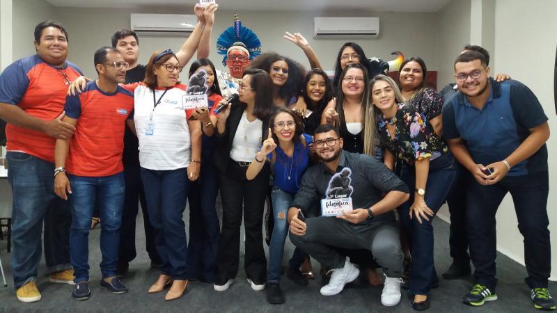 Competição acadêmica e confraternização marcam a 1ª Gincana Universitária da Fametro de Parintins