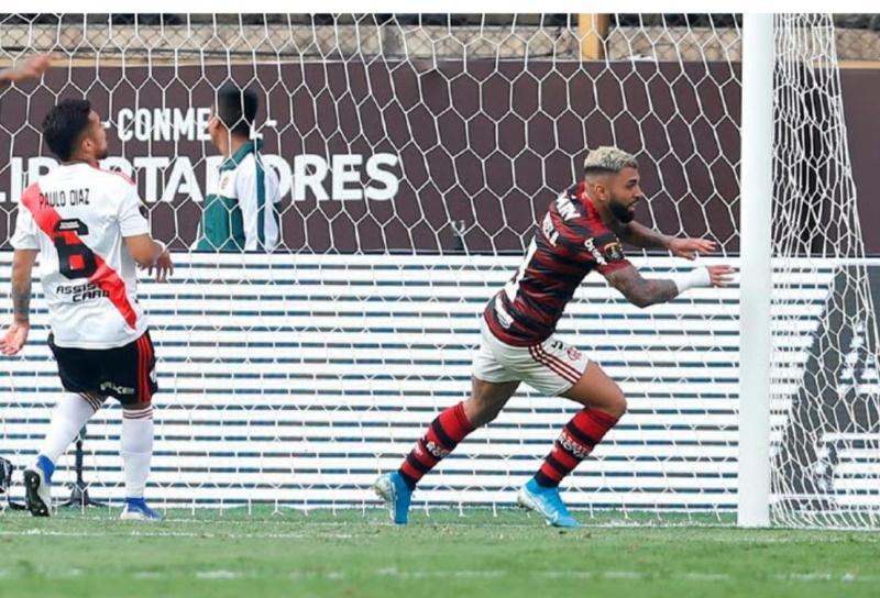 De virada, Flamengo ganha de 2 x 1 do River Plate e se torna bicampeão da Libertadores