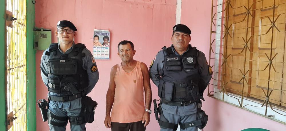 Após 30 anos sem falar com a família que mora em Goiás, pai é encontrado por PMs, em Parintins