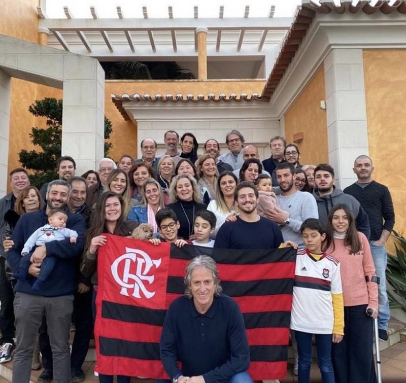 Flamengo trata com calma a possível renovação de Jorge Jesus