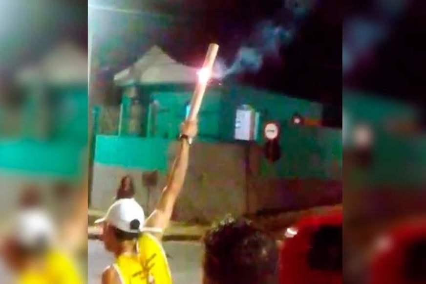 Fogos são ouvidos em toda Manaus e população fica assustada