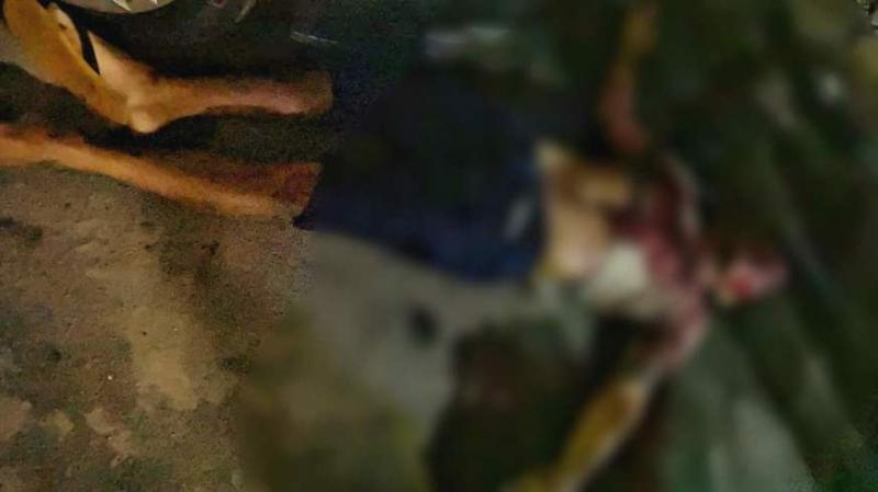 Homem é executado a tiros após pichar muro com a sigla do CV