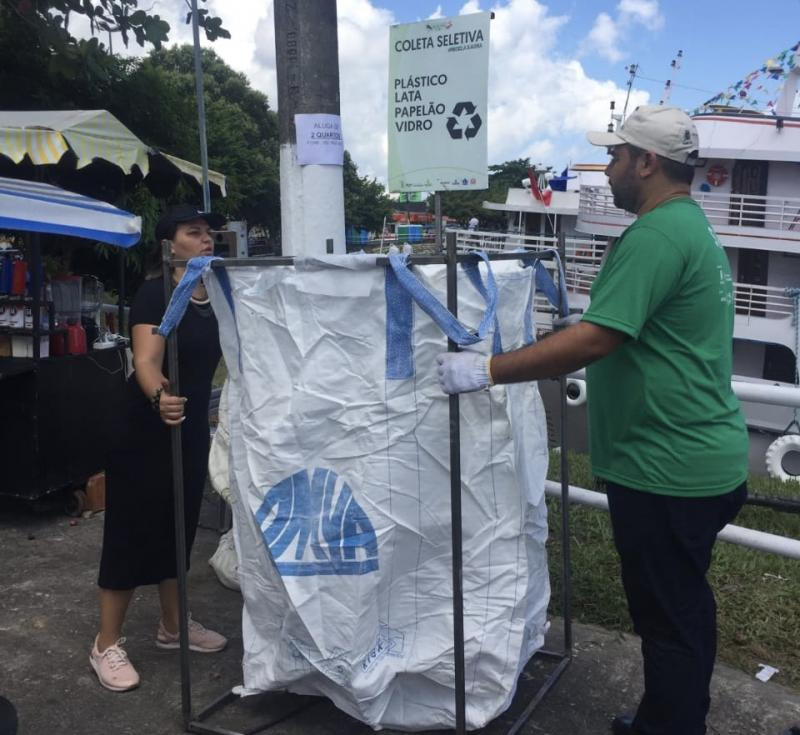 Galo de Parintins investe em sustentabilidade