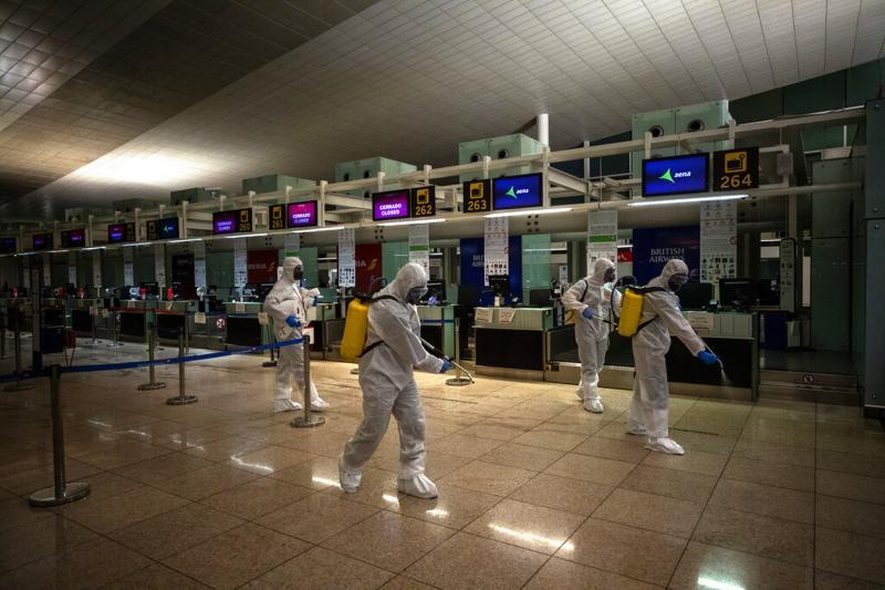 Mortos por coronavírus no mundo são 10 mil com 224 mil infectados