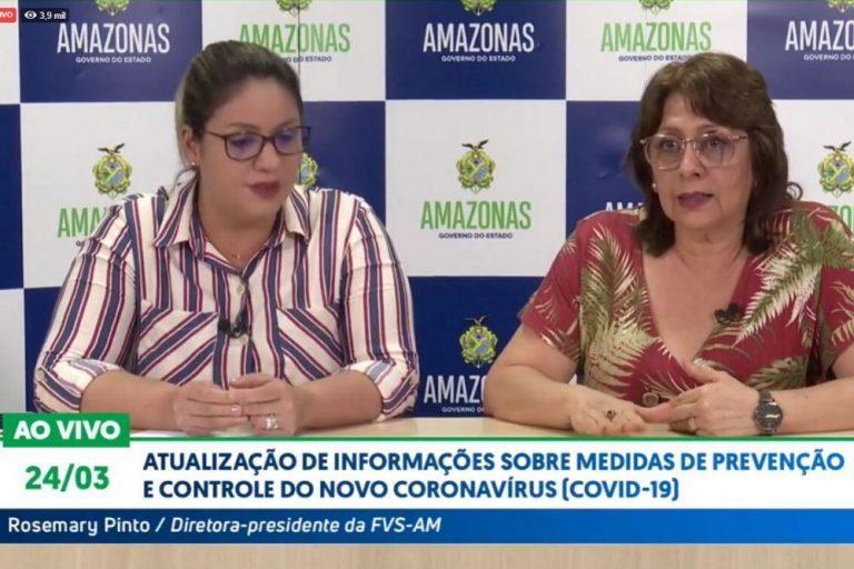 Primeiro caso de Covid-19 no Amazonas está curado, diz FVS