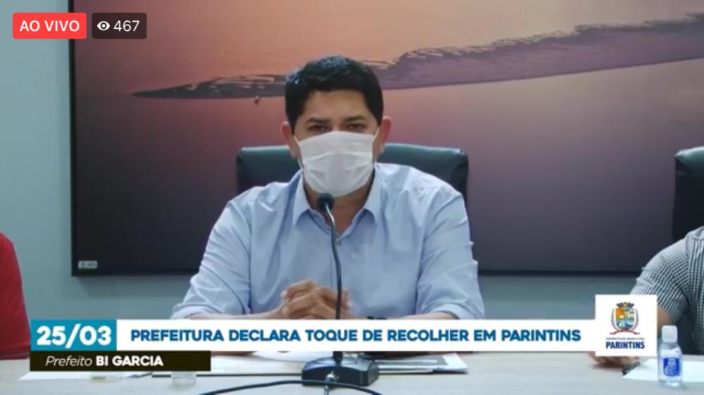 Prefeitura declara toque de recolher em Parintins