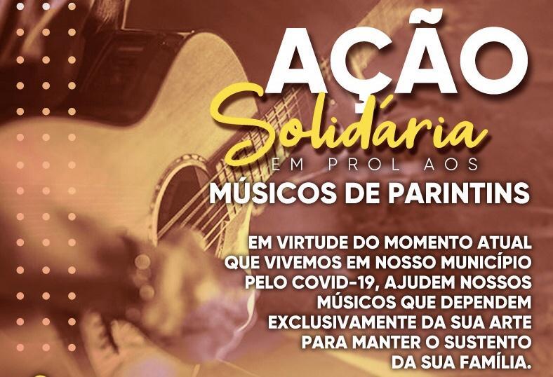 Músicos parintinenses realizam Ação Solidária em prol da categoria artística