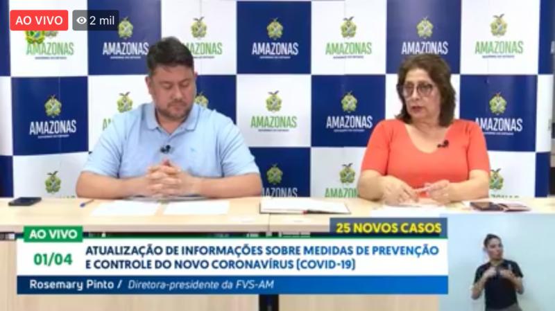 Amazonas chega a 200 casos confirmados de coronavírus