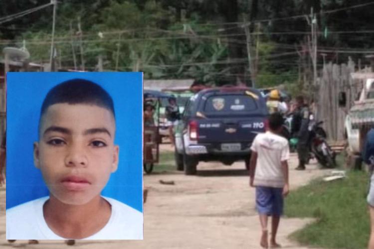 Amarrado e amordaçado: Criança desaparecida é encontrada pela PM em Parintins