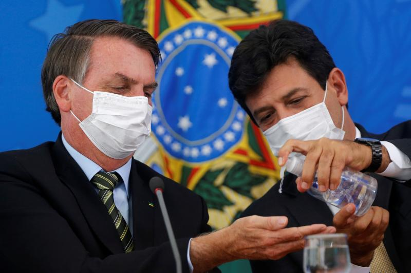 Bolsonaro decide demitir Mandetta ainda nesta segunda-feira, diz O Globo