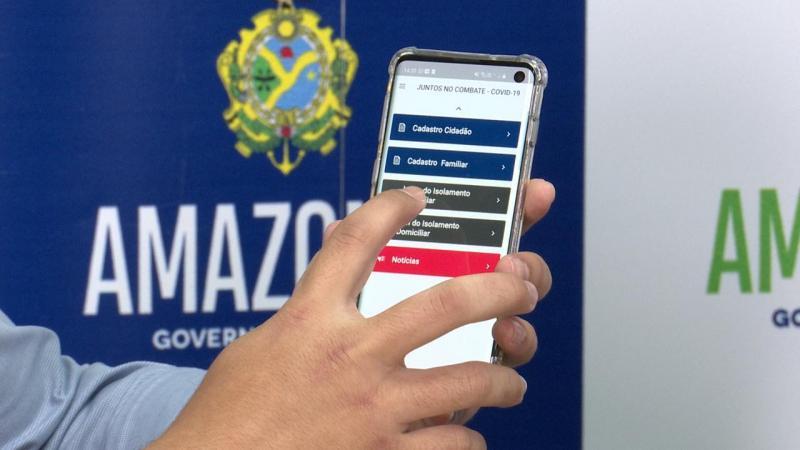 Amazonas adota aplicativo para monitoramento de pacientes com Covid-19 em isolamento domiciliar